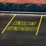 consultant hypnotherapist parking spot