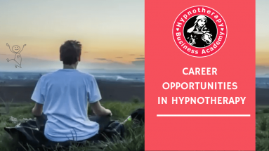 Man on Mountain contemplating Career Opportunities in Hypnotherapy