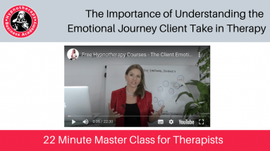 free therapy training the emotional journey