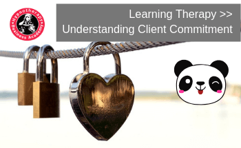 learning therapy client commitment in therapy