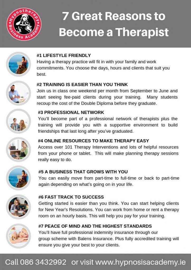 7 Reasons to Become a Therapist with Susan Wallace