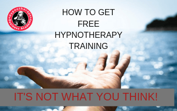How To Get Free Hypnotherapy Training