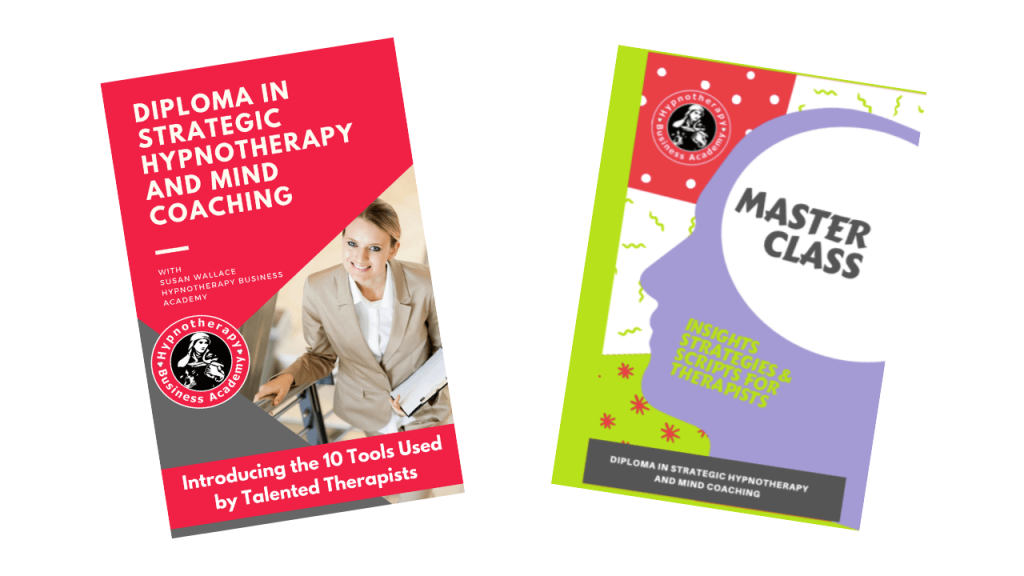 Hypnotherapy and Mind Coaching Professionally Printed and Academically Researched course books by Susan Wallace