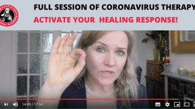 coronavirus therapy session with Susan Wallace