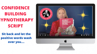Confidence Building Hypnotherapy Script. Click to watch the video.