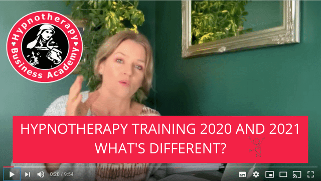 Hypnotherapy Training 2020 and 2021, What's Different?