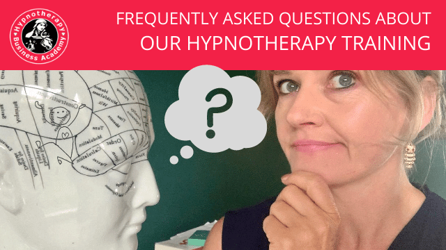 Hypnotherapy Training Frequently Asked Questions