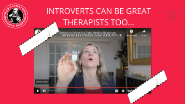 Introverts make great therapists