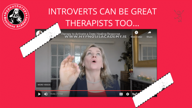 Introverts Make Great Therapists Too…