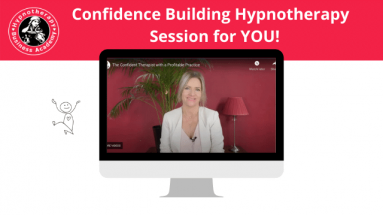 confidence building hypnotherapy session with Susan Wallace