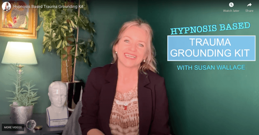 Hypnosis based trauma grounding kit free 15 minute masterclass